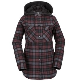 Volcom Volcom Hooded Flannel Jacket