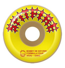 Spitfire Spitfire Bobby Dekeyzer Two Stroke Yellow F4 (53mm)