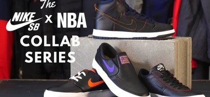 The Nike SB x NBA Collection