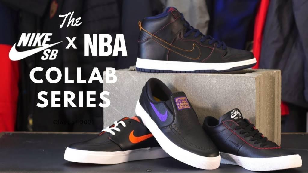 The Nike SB x NBA Collection