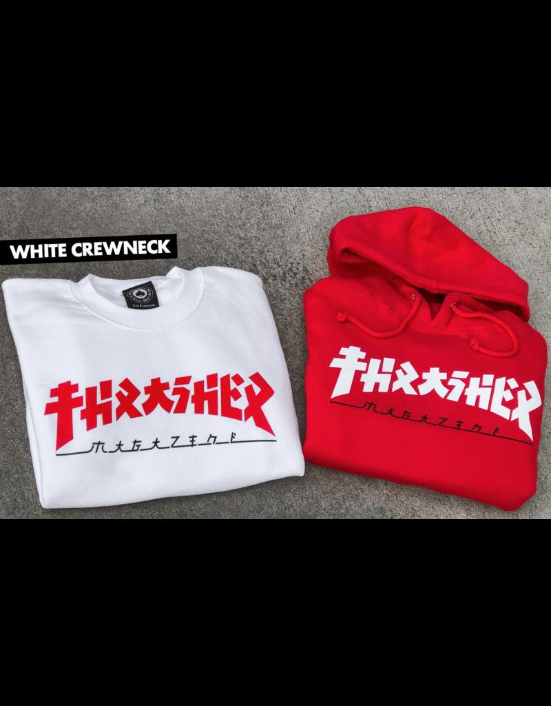 Thrasher Godzilla Hoodie Red Online Canada
