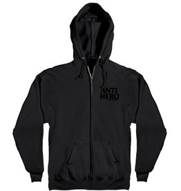 Anti Hero Anti Hero Lil Blackhero EMB Zip Hoodie