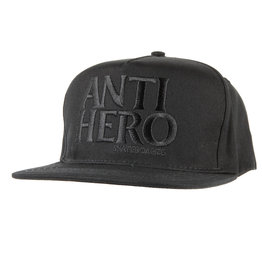 Anti Hero Anti Hero Blackhero Snapback Hat (black/black)