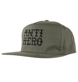 Anti Hero Anti Hero Flashhero Snapback Hat (army/black)