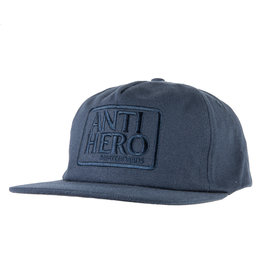 Anti Hero Anti Hero Reserve Snapback Hat (Dark Navy)