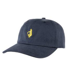 Krooked Krooked SHMOLO Strapback Hat (dark navy)