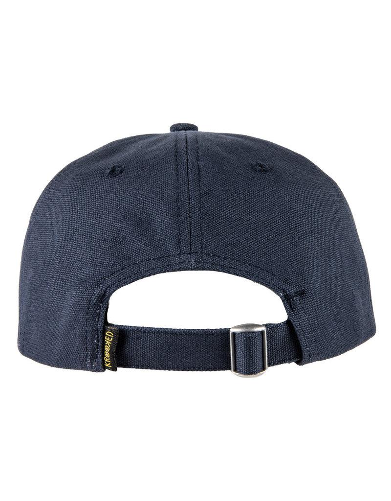 ba1890d7 Krooked SHMOLO Strapback Hat (dark navy) - Shredz Shop