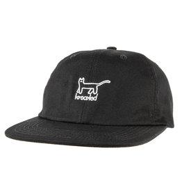 Krooked Krooked Kat Strapback Hat (Black/White)