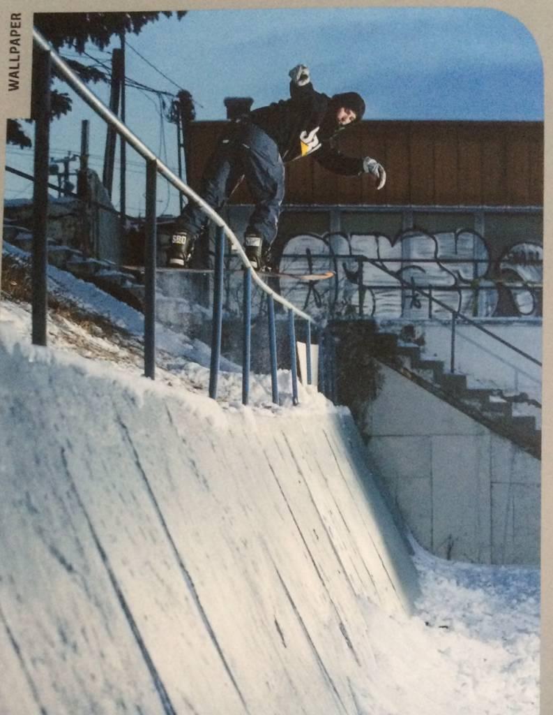 Finn Westbury In Snowboard Canada Magazine