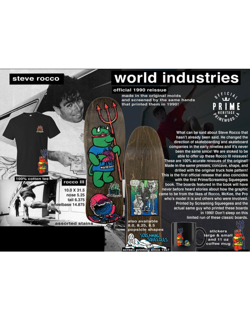 Prime Wood LA World Industries Rocko III Deck (10)