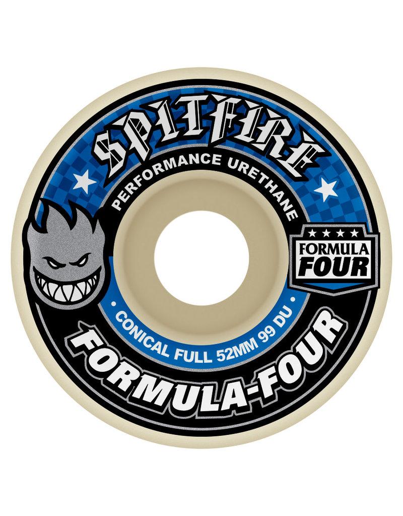 Spitfire Spitfire Formula Four Conical Full 99D Wheels (52mm)