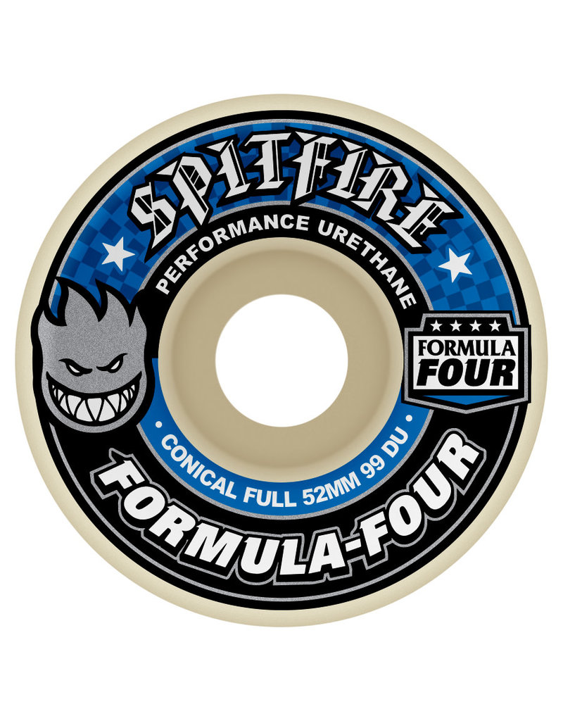 Spitfire Spitfire Formula Four Conical Full Wheels (53mm)