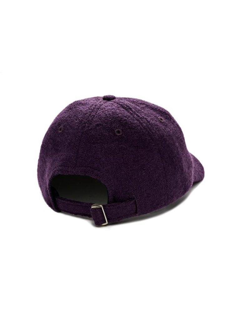 Polar Polar Boiled Wool Hat (aubergine)