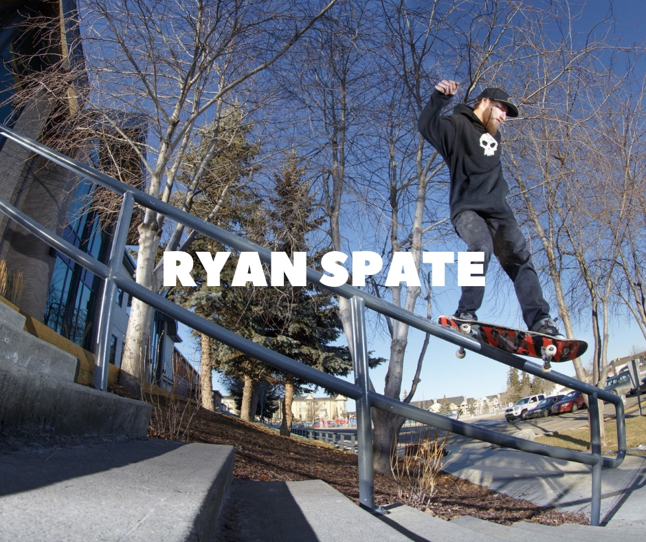 Shredz Shop Ryan Spate Team Page
