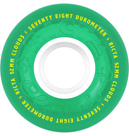 Ricta Wheels Clouds Green 78A (52mm)