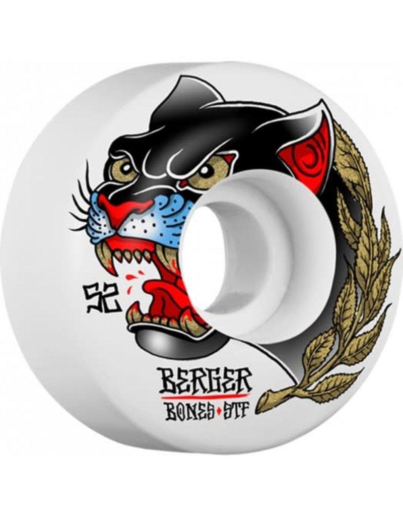 Bones Bones STF Berger Panther Wheels V3 (52mm)