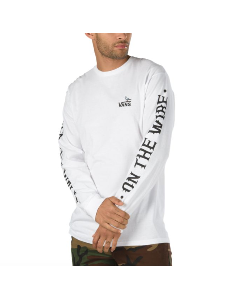 Vans Vans X Anti Hero On The Wire Longsleeve Shirt
