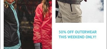 Snow Sale (THIS WEEKEND ONLY)