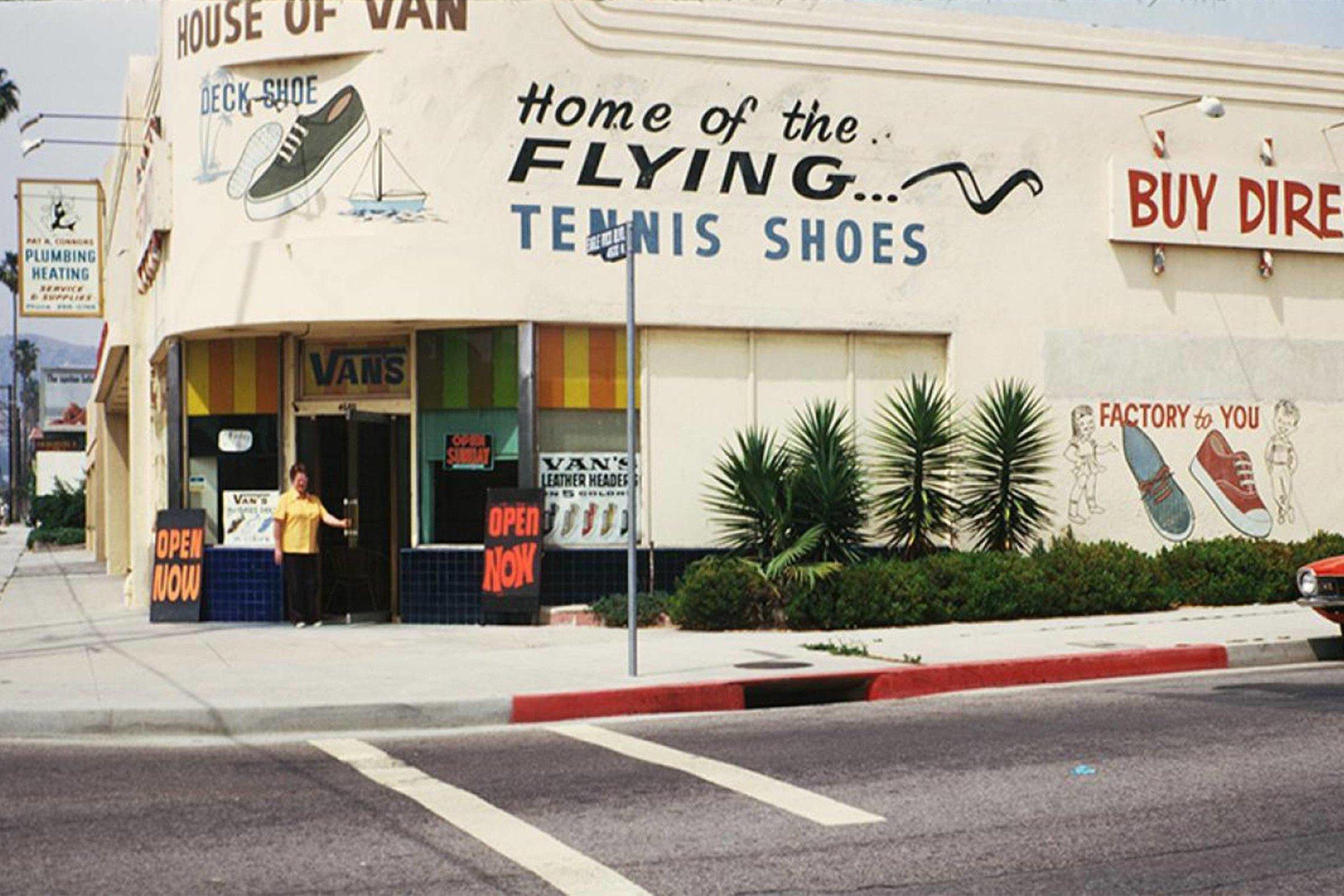 Where did Vans brand start - original vans store