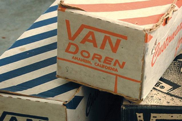Vans Shoes Retro Boxes Van Doren Rubber Company