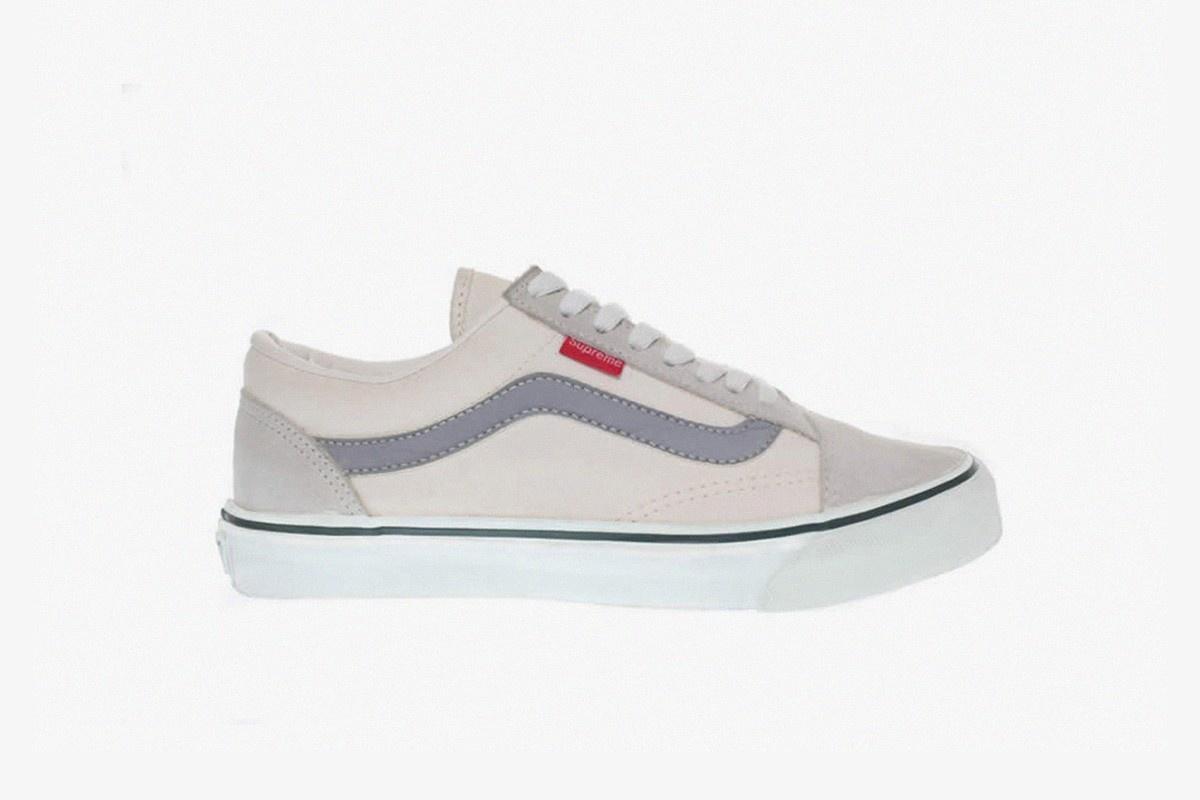 Vans Supreme Collaboration Shoes Drop Online Canada