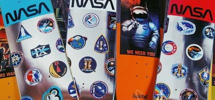 Habitat Skateboards X NASA Collaboration Is Here