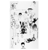 Fucking Awesome Fucking Awesome Jason Dill Drawings Deck White (8.25)