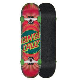 Santa Cruz Vertigo Ray Dot Skateboard Complete (7.75)