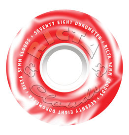 Ricta Wheels Clouds Red Swirl 78A (52mm)