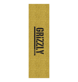 Grizzly Grizzly Griptape Glitter Gold Logo Stamp