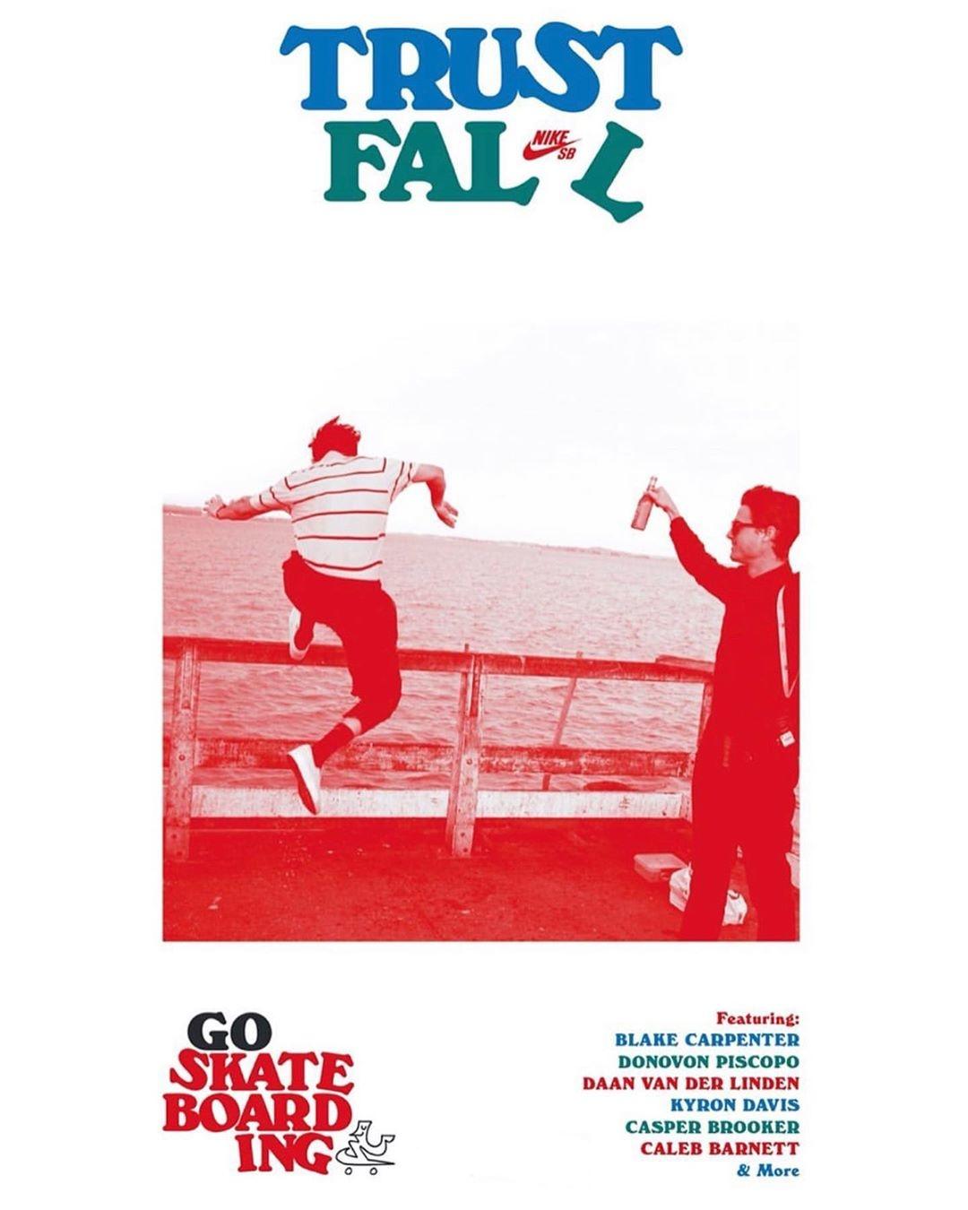 "Nike SB Releases ""Trust Fall"""