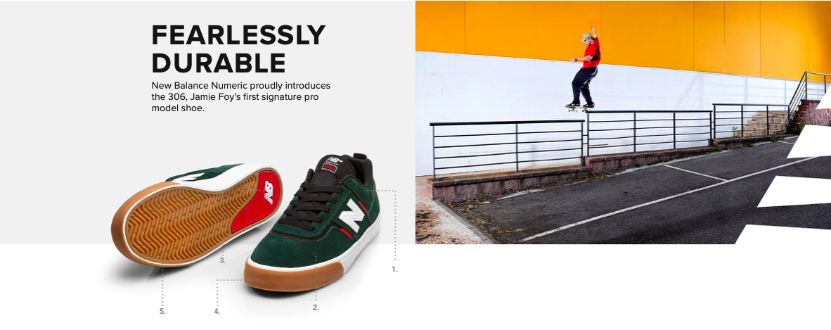 New Balance Presents The Jamie Foy Pro Shoes