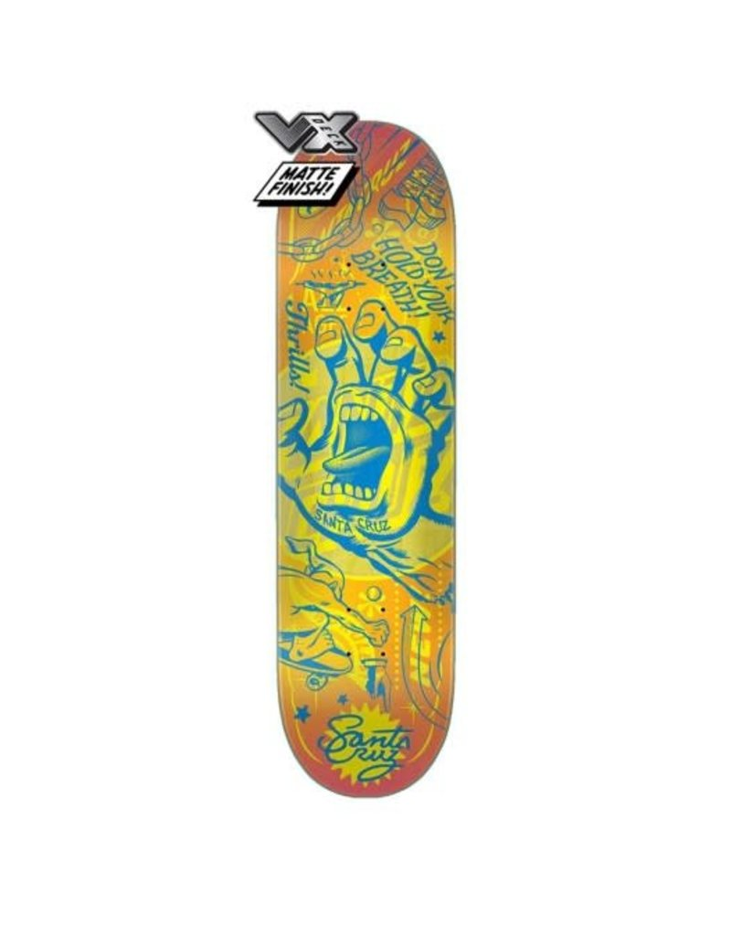 Santa Cruz VX Flash Hand Deck (8.25)