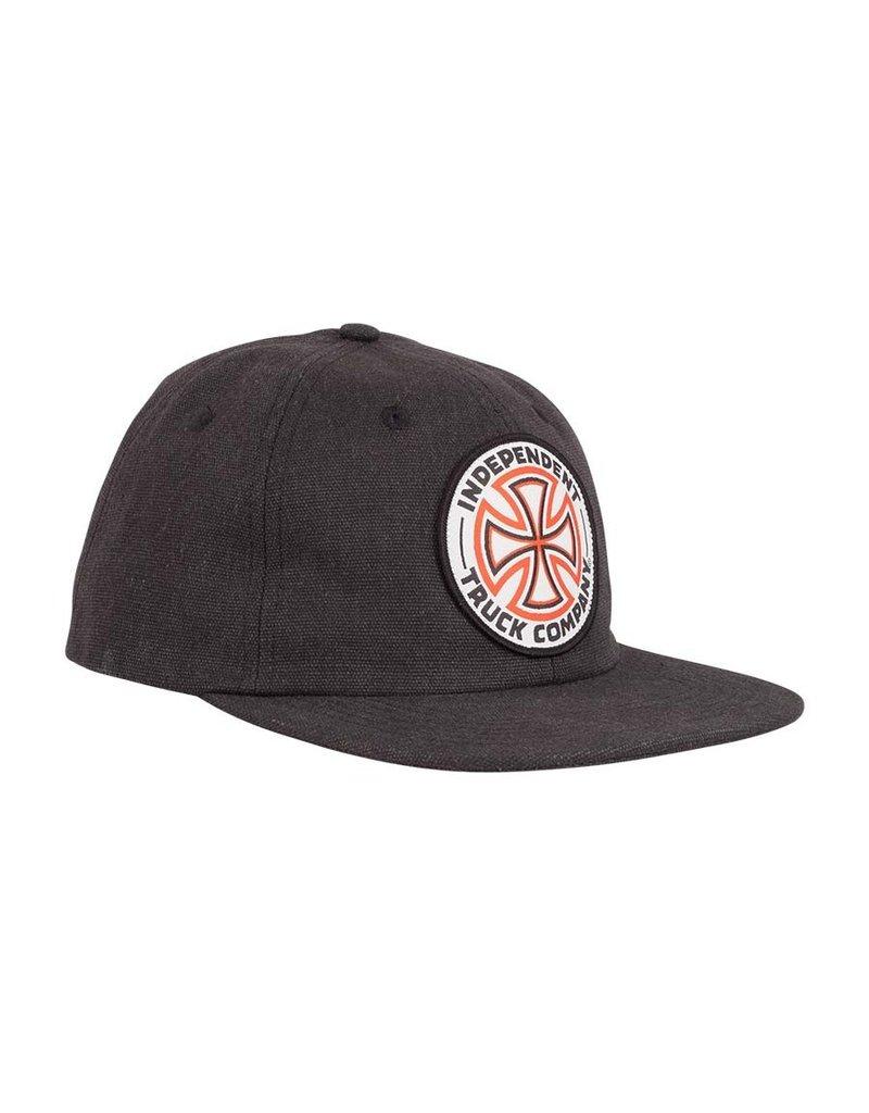 Independent Independent Cross Snapback Hat (Black)