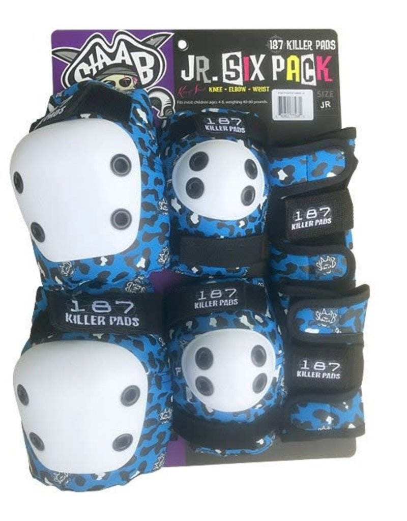 187 187 Killer Pads Junior Pad Set
