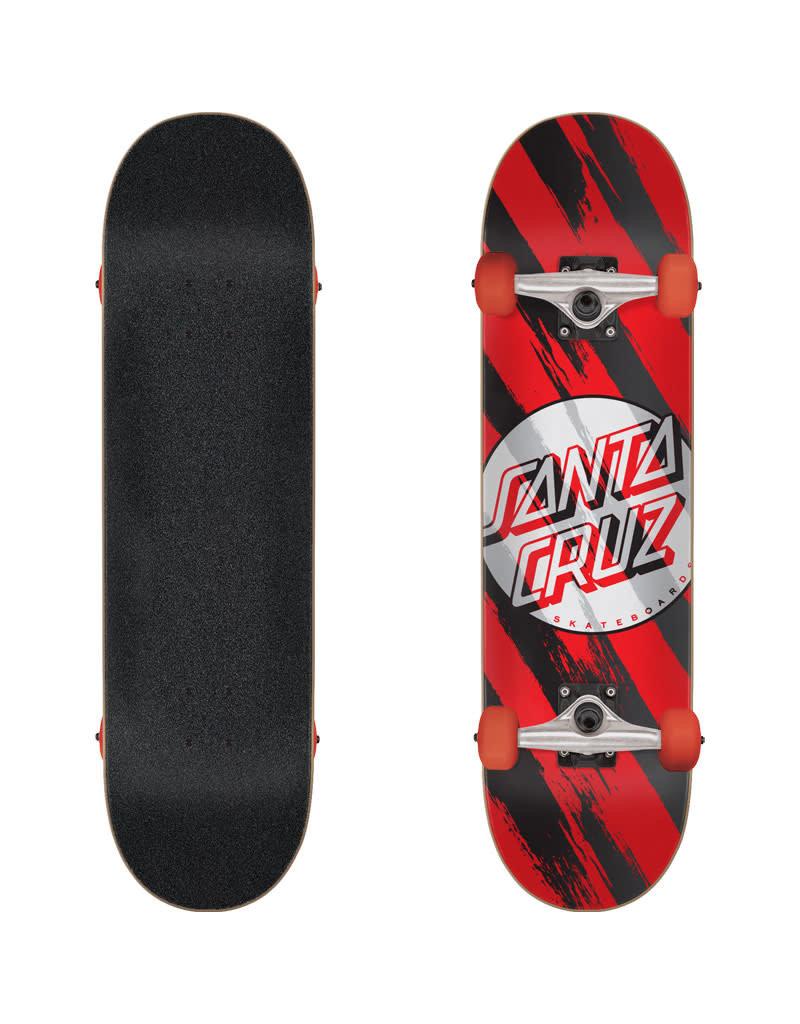 430cae80b4 Santa Cruz Brush Dot Skateboard Complete (7.5)