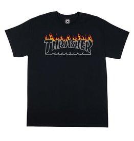 Thrasher Thrasher Magazine Scorched Outline T-Shirt