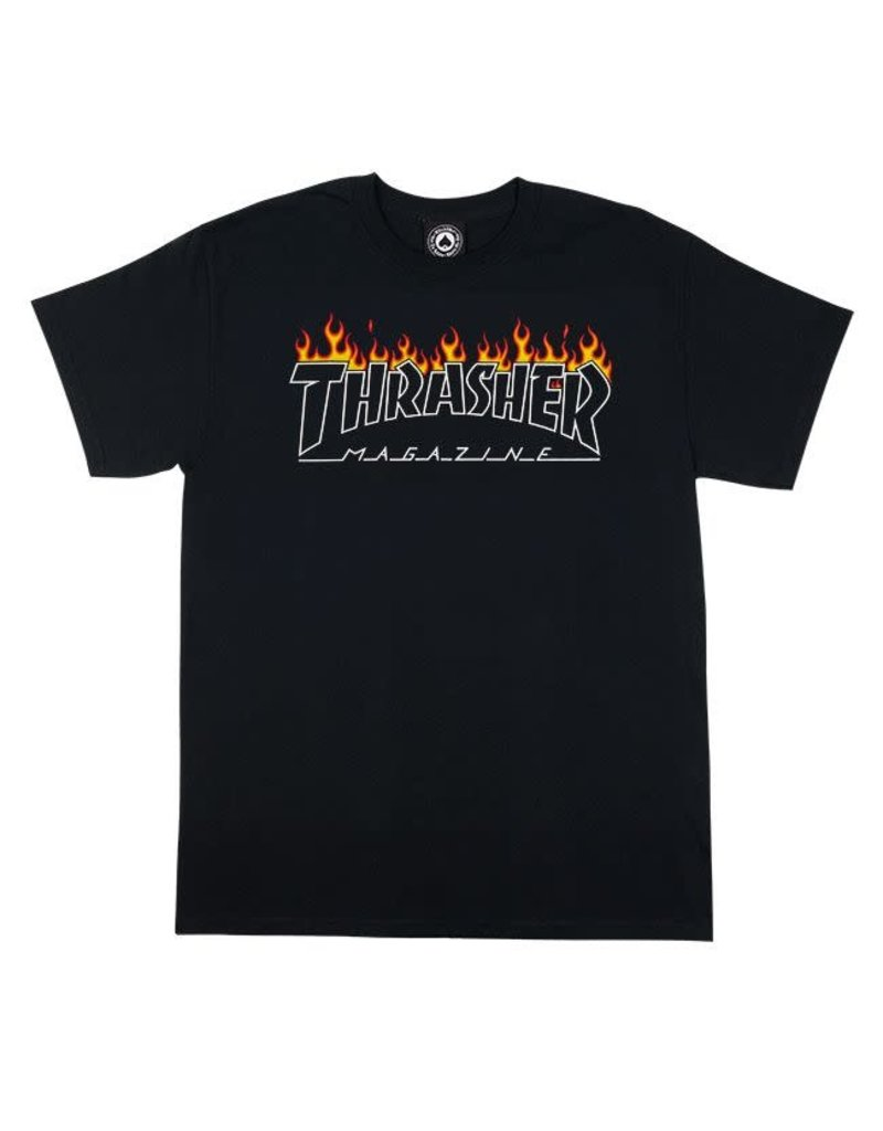 Thrasher Thrasher Magazine Scorched Outline T-Shirt