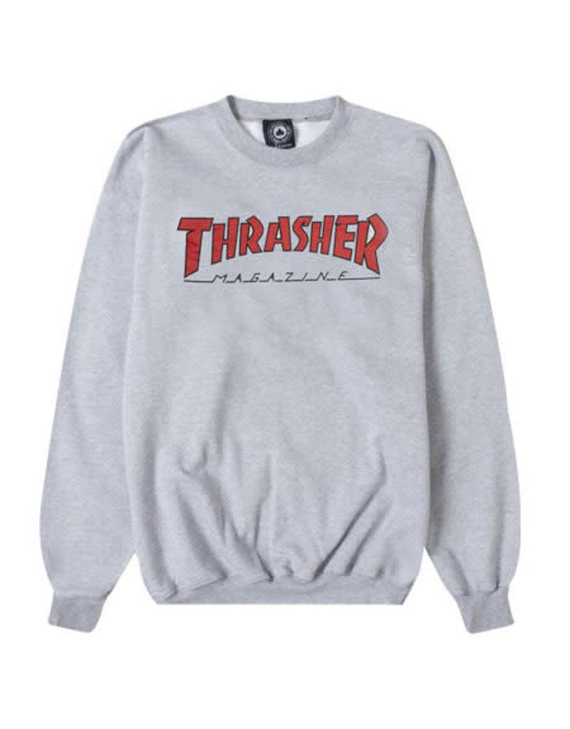 Thrasher Thrasher Magazine Outlined Crew Sweater