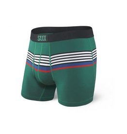 Saxx Saxx Ultra Boxers Green Regatti Stripe