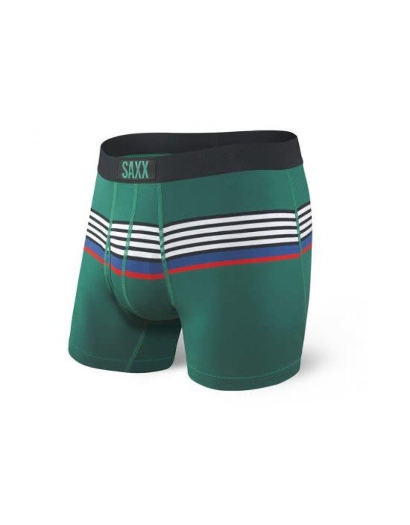 Saxx Saxx Ultra Boxers Green Regatti Stripe