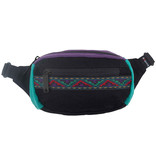 Bumbag Bumbag Mini Hip Pack (black teal purple)