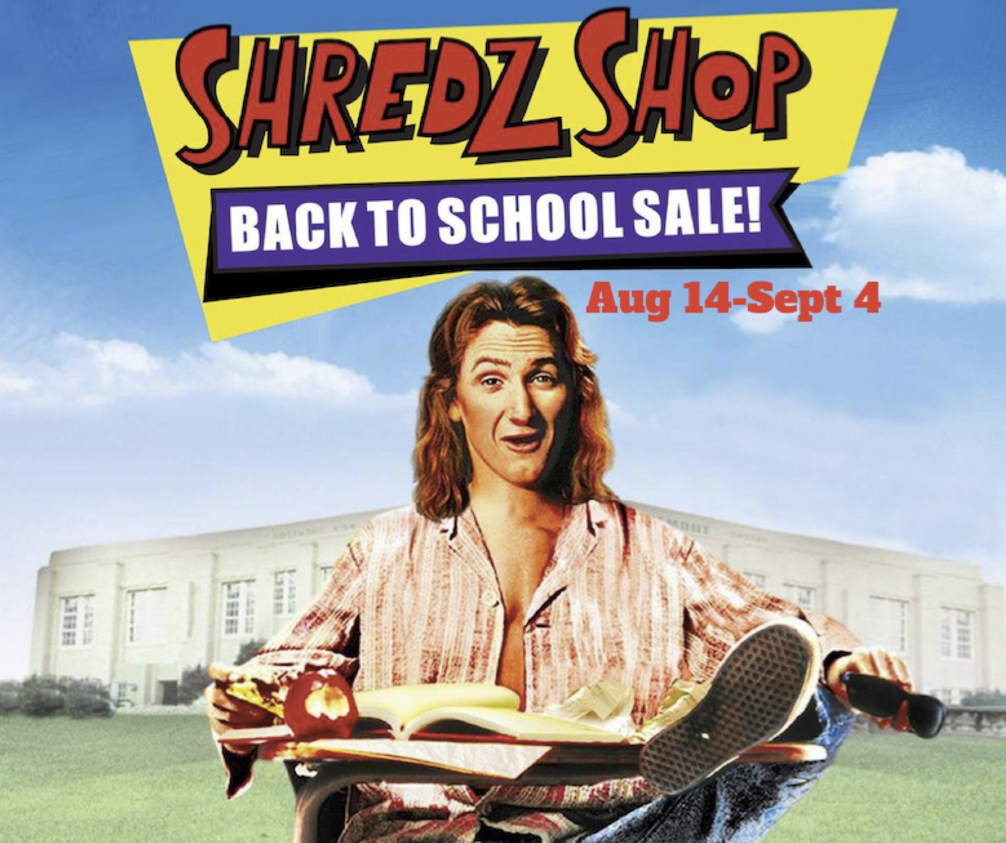 Back To School Sale Aug 14 - Sept 4