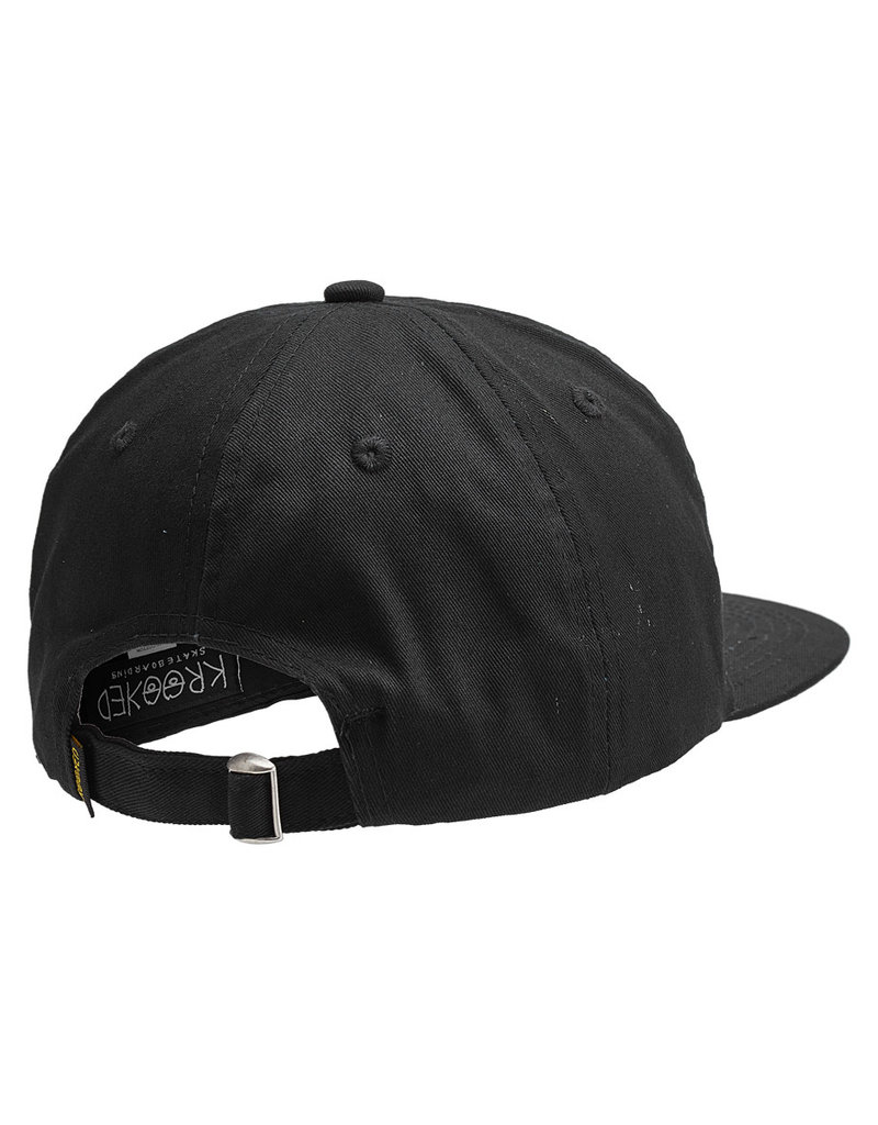 Krooked Krooked Eyes Strapback Hat (black/royal)