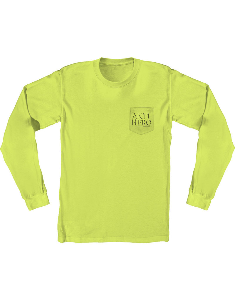 Anti Hero Anti Hero Lil Drophero L/S Pocket T-Shirt