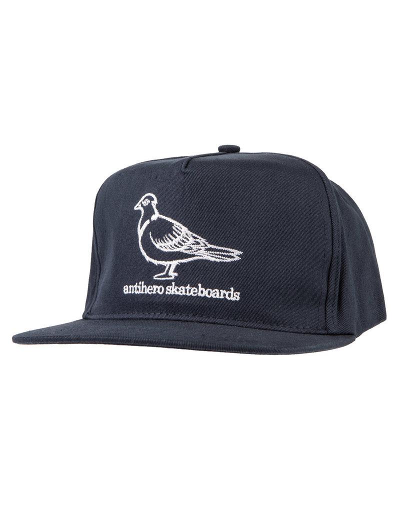 Anti Hero Anti Hero Pigeon Snapback (navy/white)