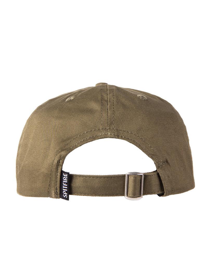 Spitfire Spitfire OG Classics Snapback Hat (brown/yellow)