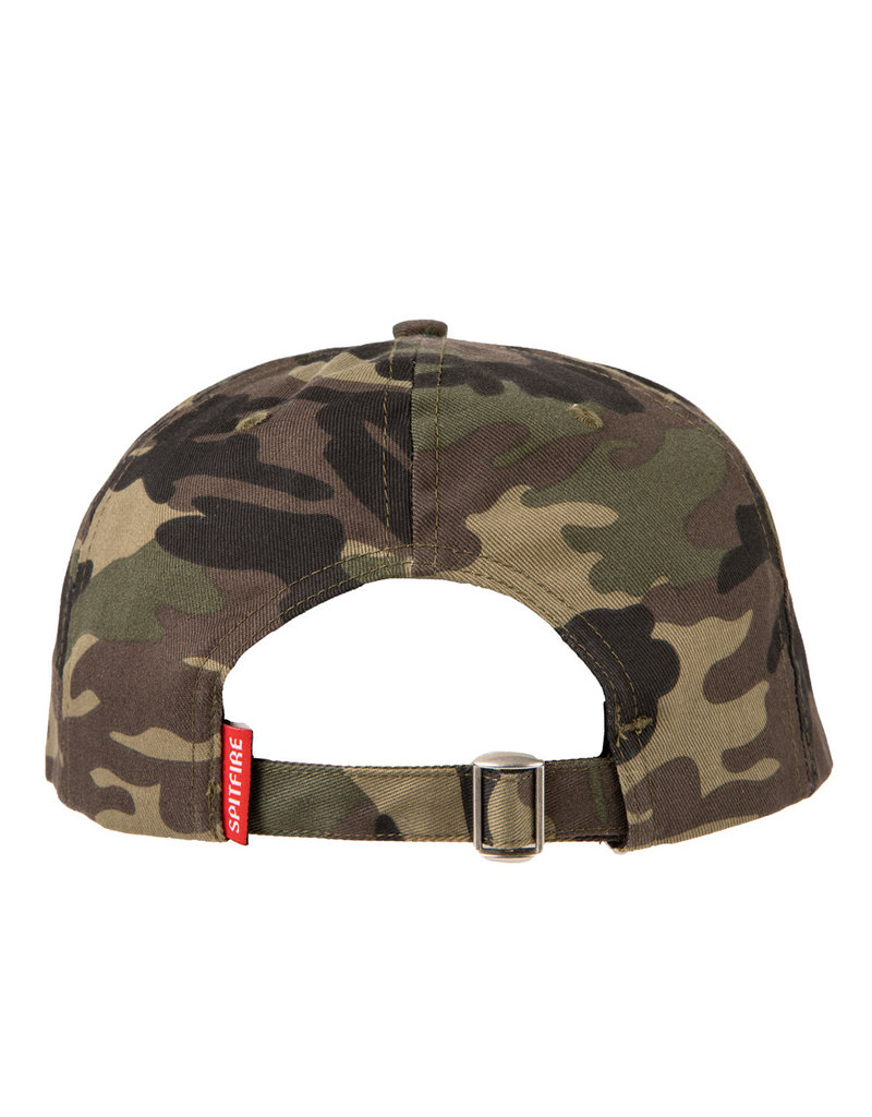 Spitfire Spitfire Bighead Fill Snapback Hat (camo/red)