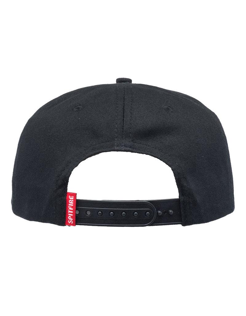 Spitfire Spitfire Bighead Snapback Hat (black/red)