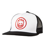Spitfire Spitfire Bighead Circle Trucker Hat (white/black/red)